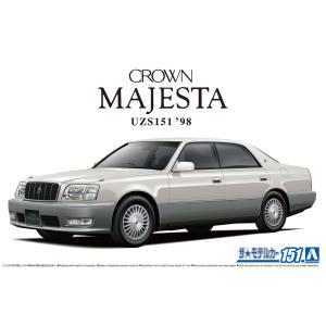 トヨタ UZS151 クラウンマジェスタ Cタイプ '98 1/24 ザ・モデルカー No.151   #プラモデル|aoshima-bk