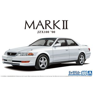 トヨタ JZX100 マークII ツアラーV '00 1/24 ザ・モデルカー No.100   #プラモデル|aoshima-bk