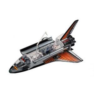 スペースシャトル 4D VISION ビークルカットモデル No.01 #立体パズル aoshima-bk