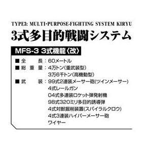 [予約特価4月発送予定]ゴジラ×モスラ×メカゴジラ 東京SOS MFS-3 3式機龍〈改〉 #プラモデル|aoshima-bk|12