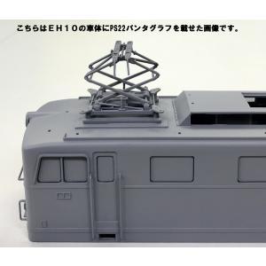 【通販限定】国鉄直流電気機関車 EH10 1/50  電気機関車 No.3 +パンタグラフ2枚付きバージョン #プラモデル|aoshima-bk|12