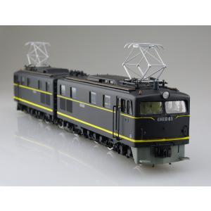 【通販限定】国鉄直流電気機関車 EH10 1/50  電気機関車 No.3 +パンタグラフ2枚付きバージョン #プラモデル|aoshima-bk|08