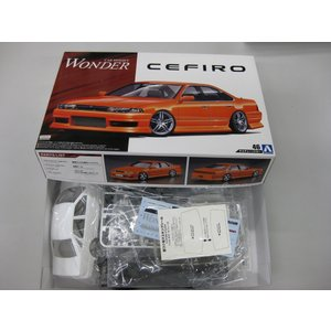 [箱つぶれ特価]1/24 WONDER A31 セフィーロ '90(ニッサン) ザ・チューンドカー No.46 #プラモデル