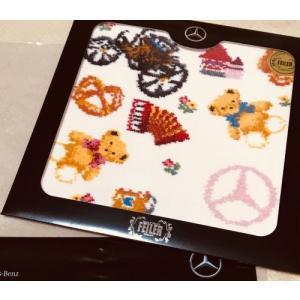 Mercedes-Benz × フェイラー ハンカチピンク