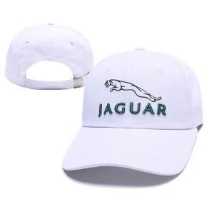 ジャガー刺繍キャップ(ホワイト)