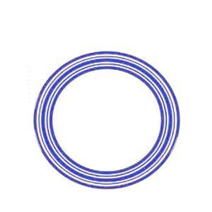 ドイツ・KONITZ(コーニッツ) ベーシックストライプス ブルー 19cmプレート|aoyamarozeshop
