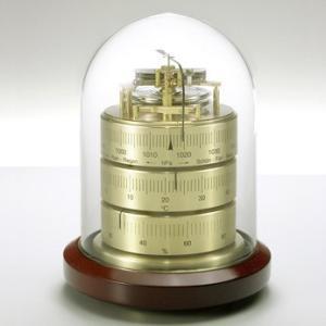 BARIGO バリゴ 温湿気圧計 ベースウッド BG3026 温湿度計 気圧計 送料無料