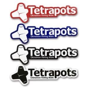 テトラポッツ ステッカー Frame Logo Sticker