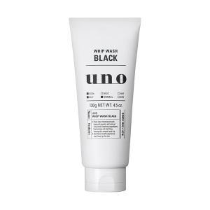《資生堂》 UNO(ウーノ) ホイップウォッシュ ブラック 130g