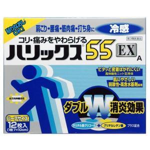 《ライオン》 ハリックス55 EX 冷感A ハーフサイズ 12枚 【第3類医薬品】 aozorablue