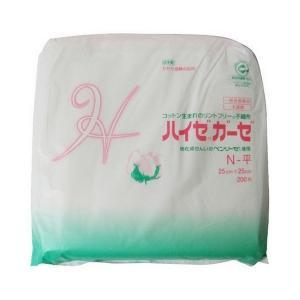 《カワモト》 ハイゼガーゼ N-平 25cm×25cm 200枚 (医療機器)|aozorablue