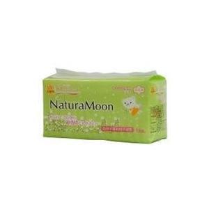 ナチュラムーン生理用ナプキン多い日の昼用 羽つき 16個入×12袋セット