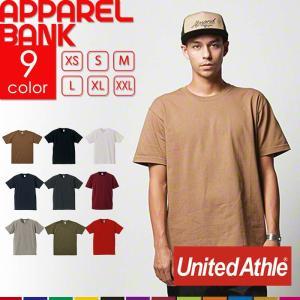 Tシャツ 半袖 UnitedAthle ユナイテッドアスレ 4252 厚手 ヘビーウェイト オープエンド糸 無地T アメリカン|ap-b