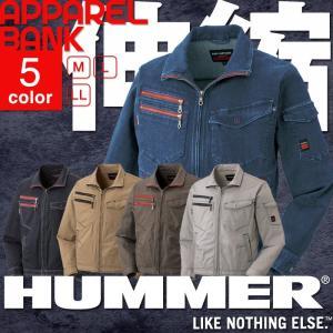 HUMMER 603-4 人気のHUMMERシリーズからストレッチの効いた長袖ブルゾンが登場! スー...