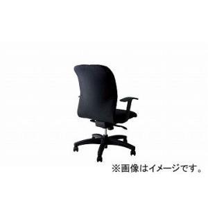 ナイキ/NAIKI マネージメントチェアー ブラック E321L-BK