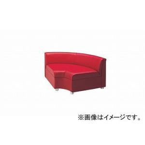 ナイキ/NAIKI 内Rコーナーチェアー レッド ZRE43RCU-RE 900×900×590mm