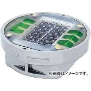 日動工業/NICHIDO ソーラーLEDロードマーカー 点灯タイプ グリーン YH-DD1OG apagency02