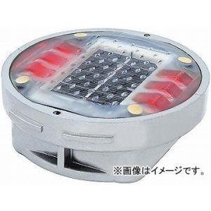 日動工業/NICHIDO ソーラーLEDロードマーカー 点灯タイプ レッド YH-DD1OR apagency02