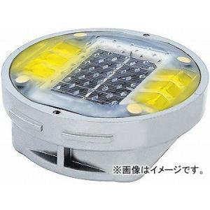 日動工業/NICHIDO ソーラーLEDロードマーカー 点灯タイプ イエロー YH-DD1OY apagency02