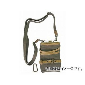 コヅチ ガーデニングシザーケース TDK-01 カーキ H185×W140×T30mm JAN:4934053079088|apagency02