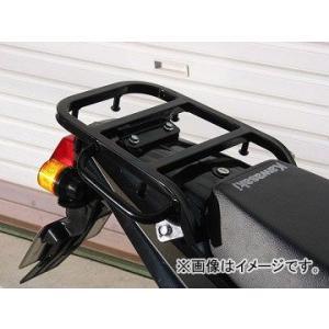 ライディングスポット(RIDING SPOT) リアキャリア スチール製 195×223mm ブラック KSR110(-10)の商品画像|ナビ