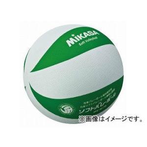 みかさ バレーボール ソフトバレーボール ソフト ボール ソフトバレー MSM78WG 白/緑
