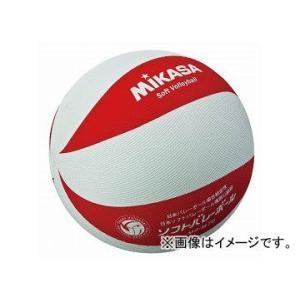 みかさ バレーボール ソフトバレーボール ソフト ボール ソフトバレー MSM78WR 白/赤