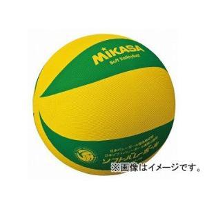みかさ バレーボール ソフトバレーボール ソフト ボール ソフトバレー MSM78YG 黄/緑