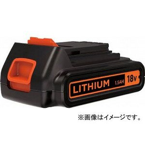 B/D 18Vリチウムバッテリー BL1518N-JP(4934351) JAN:4536178701839 apagency02