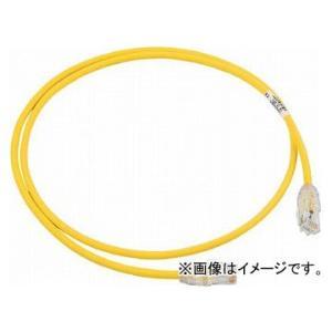 パンドウイット カテゴリ6A細径パッチコード 3m 黄 UTP28X3MYL(7853696)|apagency02