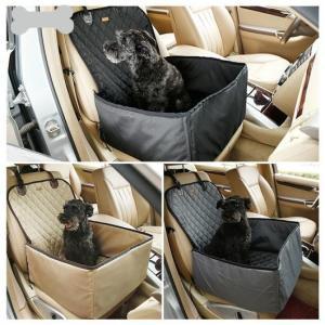 送料無料! ペットキャリー ペット 自動車 シート カーシート ペット用品 ドッグ用品 犬用品 猫用...