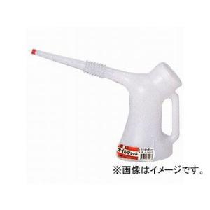 大澤ワックス BOLL オイルジョッキポリ容器 コシ網付 1L GC-1V JAN:4952703340067|apagency