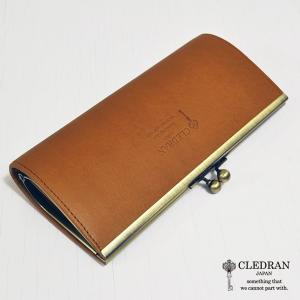 クレドラン CLEDRAN (PRUNE) PURSE LONG WALLET (CL-2717) (CAMEL) apakabar-style