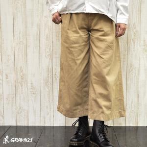 グラミチ GRAMICCI  (Ladies) BAGGY PANTS (全2色)|apakabar-style
