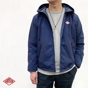 ダントン DANTON (Men's) ナイロン ストレッチタフタ インサレーション フードジャケット (JD-8954SET) (全3色) apakabar-style