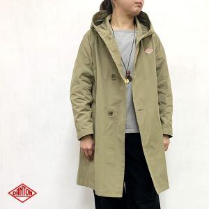 ダントン DANTON (Ladies) ダブルクロス フードコート (JD-8849PDF) (全2色) apakabar-style