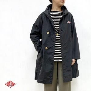 ダントン DANTON (Ladies) ナイロン タフタ フードコート (JD-8739NTF) (BLACK) apakabar-style