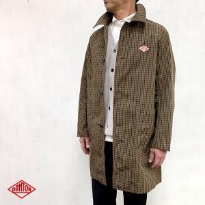 ダントン DANTON (Men's) ナイロンタフタ チェックコート (JD-8946NPL) (全2色) apakabar-style