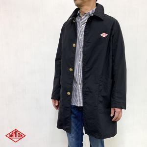 ダントン DANTON (Men's) ナイロンタフタ コート (JD-8946NTF) (BLACK) apakabar-style