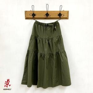 グラミチ GRAMICCI  (Ladies) WEATHER TIERD SKIRT (GLSK-19S032) (全3色)|apakabar-style