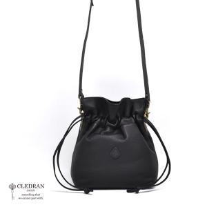クレドラン CLEDRAN GRANDI ANNE アネ 2way ショルダー バッグ CL-3208  (BLACK) 2021春夏 新入荷 apakabar-style