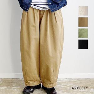 ハーベスティ HARVESTY レディース CIRCUS PANTS サーカスパンツ A11709 (全4色) 2021春夏 新入荷|apakabar-style