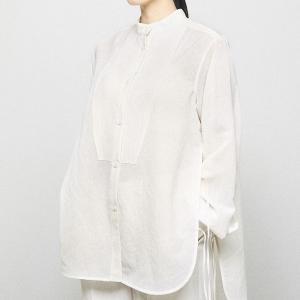 トゥデイフル TODAYFUL レディース  Slub Dress Shirts スラブ ドレス シャツ 12110405 (全2色) 2021春夏 新入荷|apakabar-style