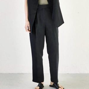 トゥデイフル TODAYFUL レディース  Tapered Tuck Pants テーパード タック パンツ 12110719 (全2色) 2021春夏 新入荷|apakabar-style