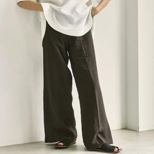 トゥデイフル TODAYFUL レディース  Linen Gather Pants リネン ギャザー パンツ 12110715 (全2色) 2021春夏 新入荷|apakabar-style