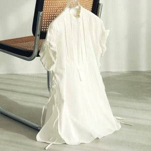 トゥデイフル TODAYFUL レディース  Halfsleeve Dress Shirts ハーフスリーブ ドレス シャツ 12010421 (エクリュ) 2021春夏 新入荷|apakabar-style