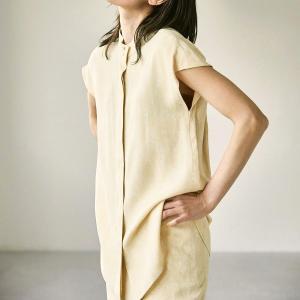 トゥデイフル TODAYFUL レディース  Standcollar Marble Shirts スタンドカラー マーブル シャツ 12110434 (全2色) 2021春夏 新入荷|apakabar-style