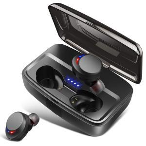 ワイヤレスイヤホン Bluetooth イヤホン Hi-Fi 高音質  80時間連続駆動|aparagiya