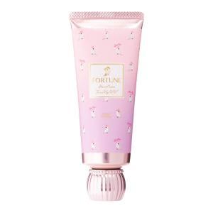 FORTUNE(フォーチューン) KOSE フレグランス トーンアップ ハンドクリーム 透明美肌 ピンクパール UV効果 ボディクリーム フォーチュンローズの香り 60g aparagiya