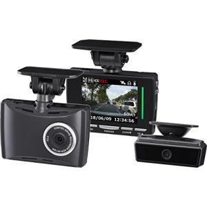 コムテック ドライブレコーダー HDR-951GW 2カメ安全運転支援 200万画素 Full HD 日本製&3年保証 常時録画 衝撃録画 GPS aparagiya